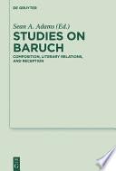 Studies on Baruch
