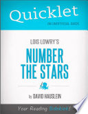 Quicklet on Lois Lowry s Number the Stars  CliffNotes like Book Notes