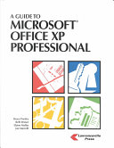 A Guide to Microsoft Office XP Professional for Windows