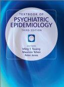 Textbook of Psychiatric Epidemiology