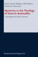 Mysteries in the Theology of Dietrich Bonhoeffer ebook