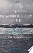 The International Law Of The Ocean Development