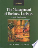 The Management of Business Logistics