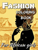Fashion Coloring Book For African Girls