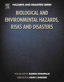 Biological and Environmental Hazards  Risks  and Disasters Book