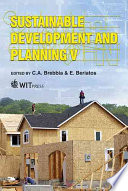 Sustainable Development And Planning V Book PDF