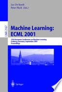 Machine Learning Ecml 2001 Book PDF
