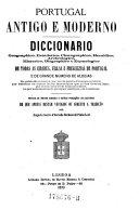 Portugal Antigo e Moderno Diccionario