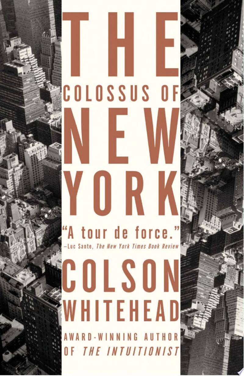 The Colossus of New York banner backdrop