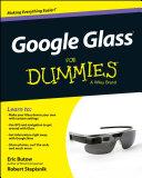 Google Glass For Dummies