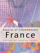 Pdf Aspects of Contemporary France Telecharger