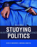 Studying Politics