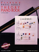 Alfred's Basic Adult Piano Course Theory