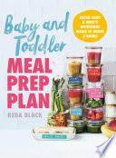 Baby Toddler Meal Prep Plan Book PDF