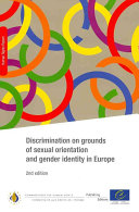 Discrimination on Grounds of Sexual Orientation and Gender Identity in Europe   2nd Edition