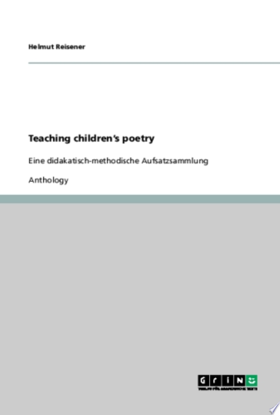 Teaching Children's Poetry