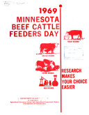 Minnesota Beef Cattle Feeders Day