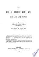 The Hon Alexander Mackenzie