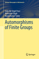 Automorphisms of finite group.