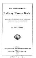 The Phonographic Railway Phrase Book