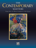 Piano Masters Series  The Contemporary Masters