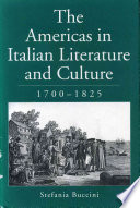 The Americas In Italian Literature And Culture 1700 1825