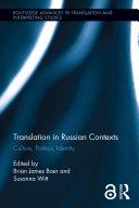 Translation in Russian Contexts Pdf/ePub eBook