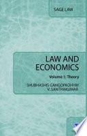 Law and Economics Book