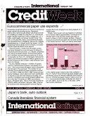 Standard   Poor s International Creditweek