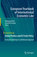 Global Politics and EU Trade Policy