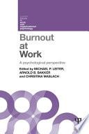 Burnout at Work Book