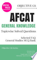 GK Topicwise Questions AFCAT