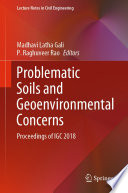 Problematic Soils and Geoenvironmental Concerns Book