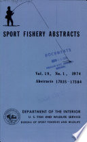 Sport Fishery Abstracts Book