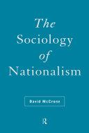 The Sociology of Nationalism Pdf/ePub eBook