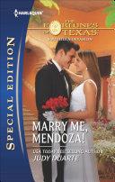 Pdf Marry Me, Mendoza!