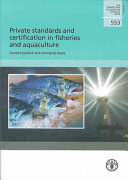 Private Standards and Certification in Fisheries and Aquaculture Book
