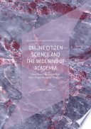 Online Citizen Science and the Widening of Academia