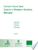 Farmers Maize Seed Systems In Western Oromia Ethiopia