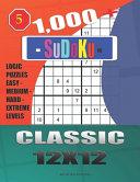 1 000   Sudoku Classic 12x12