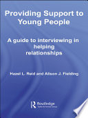 Providing Support to Young People