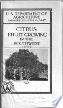 Citrus Fruit Growing in the Southwest