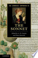 """The Cambridge Companion to the Sonnet"" by A. D. Cousins, Peter Howarth"