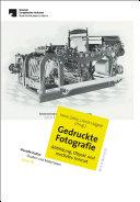 Gedruckte Fotografie. Abbildung, Objekt und mediales Format