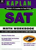 Kaplan SAT Math Workbook  1997