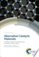 Alternative Catalytic Materials Book