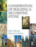 Conservation of Building and Decorative Stone Book