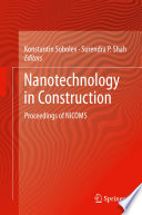 Nanotechnology In Construction Book PDF