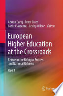 European Higher Education at the Crossroads