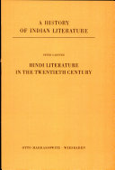 Hindi Literature in the Twentieth Century